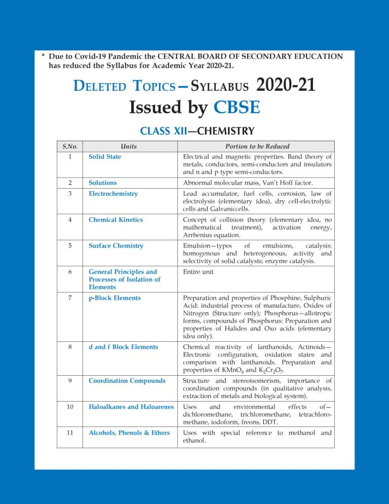 CBSE Chapterwise and Markswise Board Exam Question Bank By SHIVDAS for Class 12 Chemistry (2021 Board Exam Edition)