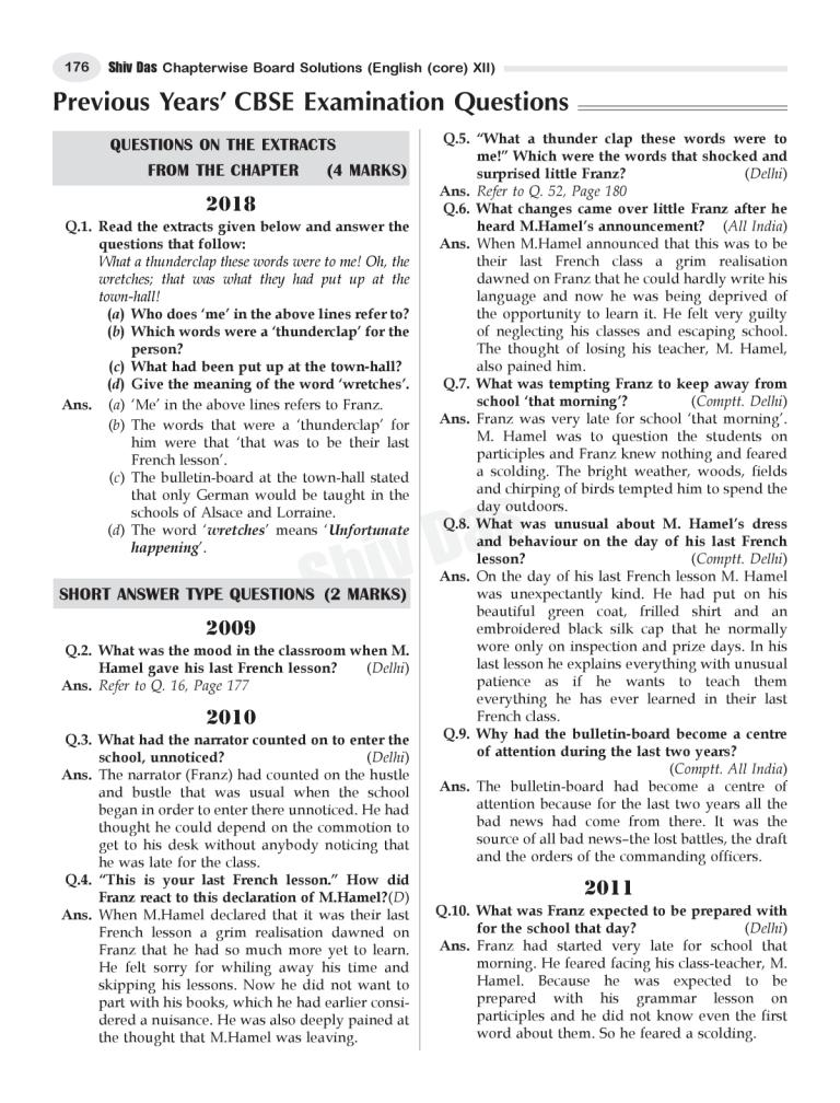 CBSE Chapterwise and Markswise Board Exam Question Bank By SHIVDAS for Class 12 English Core (2021 Board Exam Edition)