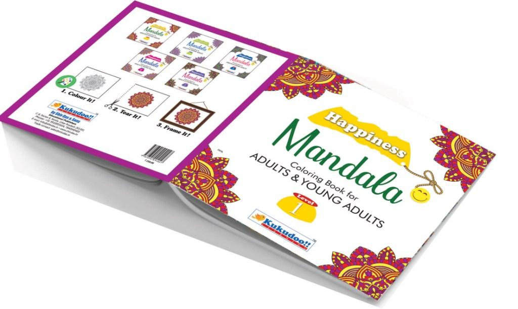 Happiness Mandala -  All in One Mandala Colouring Books Set (Ultimate collection)