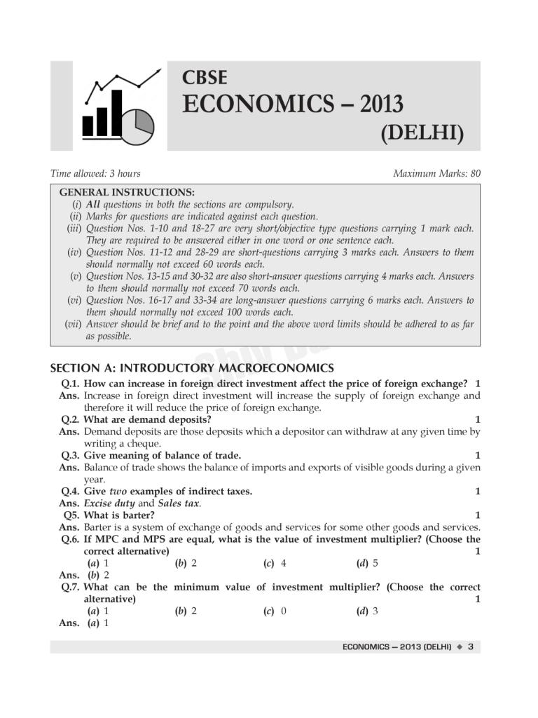 CBSE Past 7 Years Solved Board Papers and Sample Papers for Class 12 Economics By SHIVDAS (2021 Board Exam Edition)
