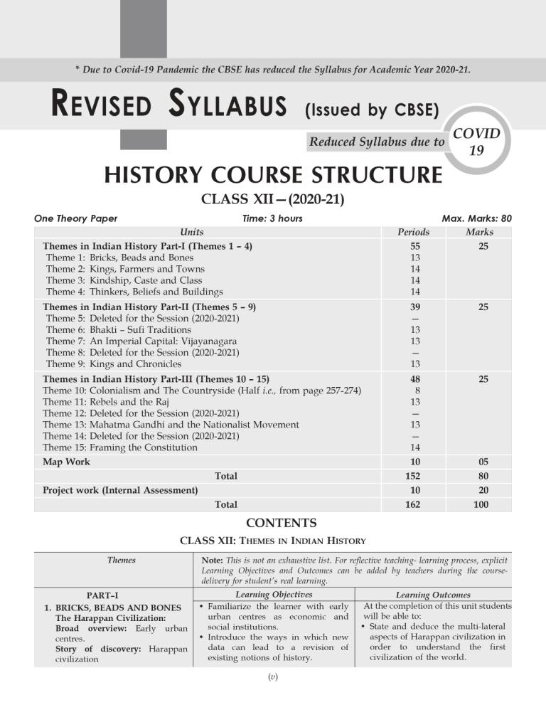 Shivdas CBSE Chapterwise and Markswise Board Exam Question Bank with Latest MCQ's for Class 12 History (2021 Reduced Edition)
