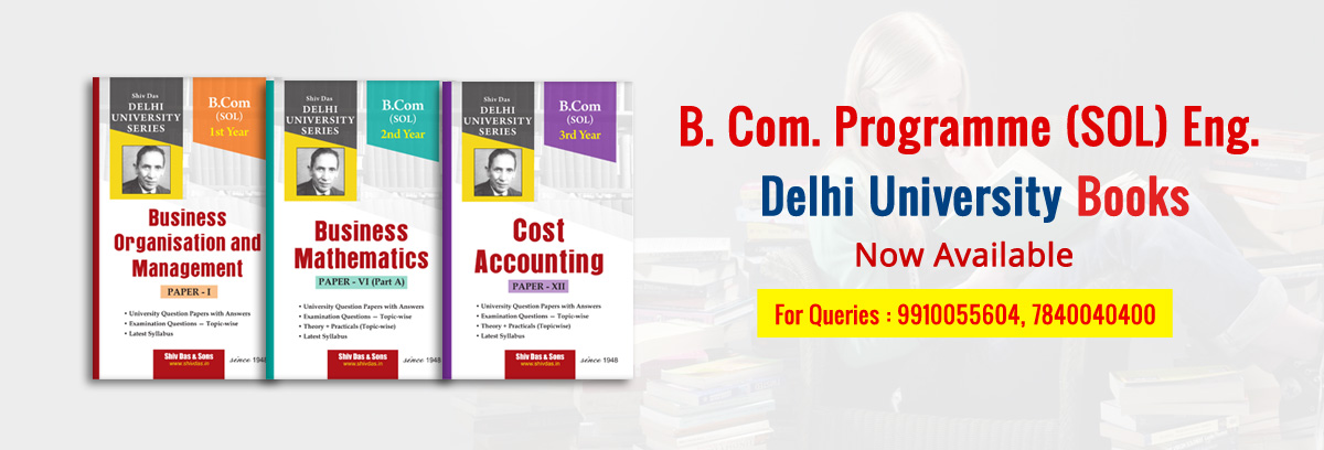 Delhi University Solved Question Papers