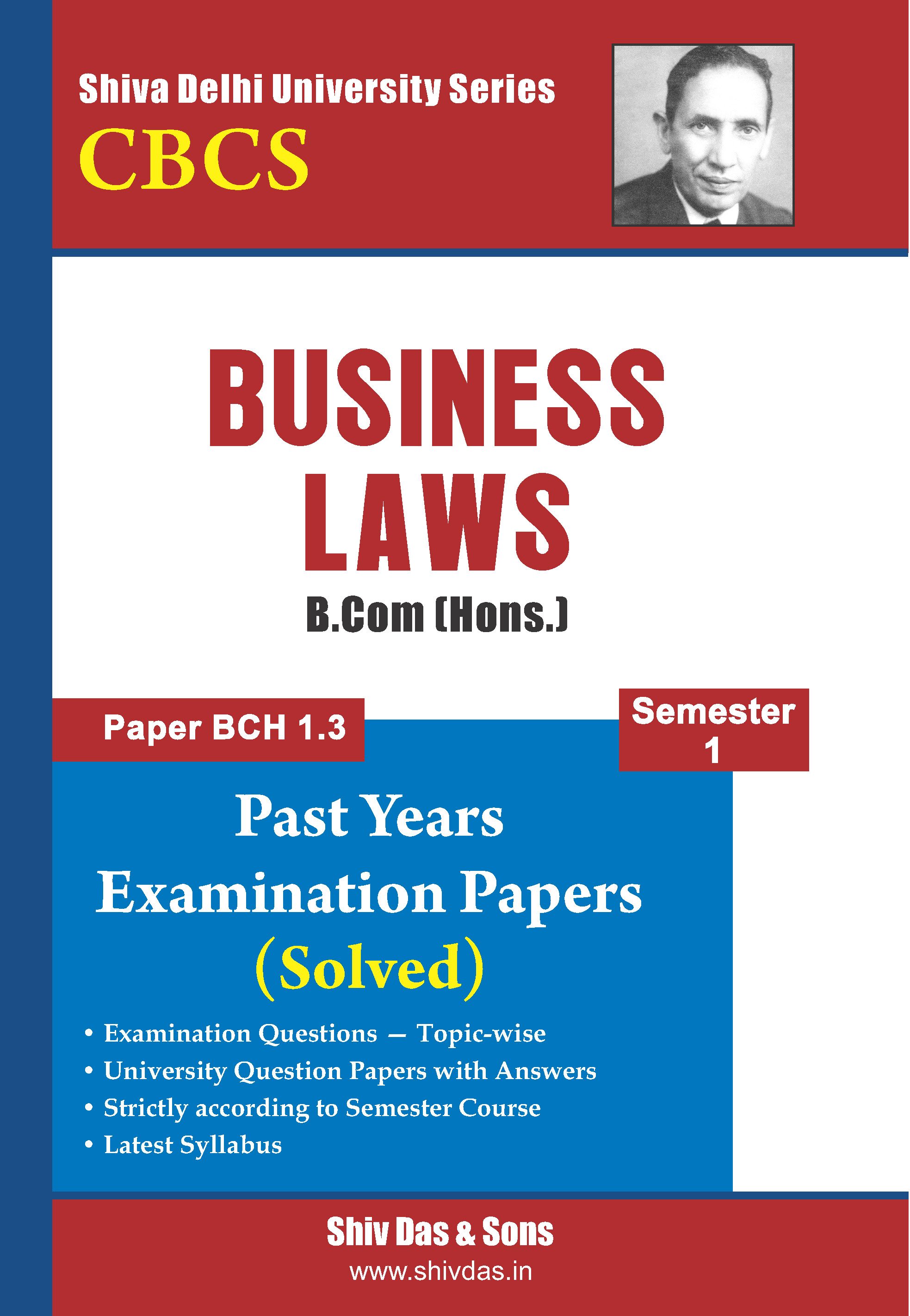 B.Com Hons. Semester-1 Business Laws