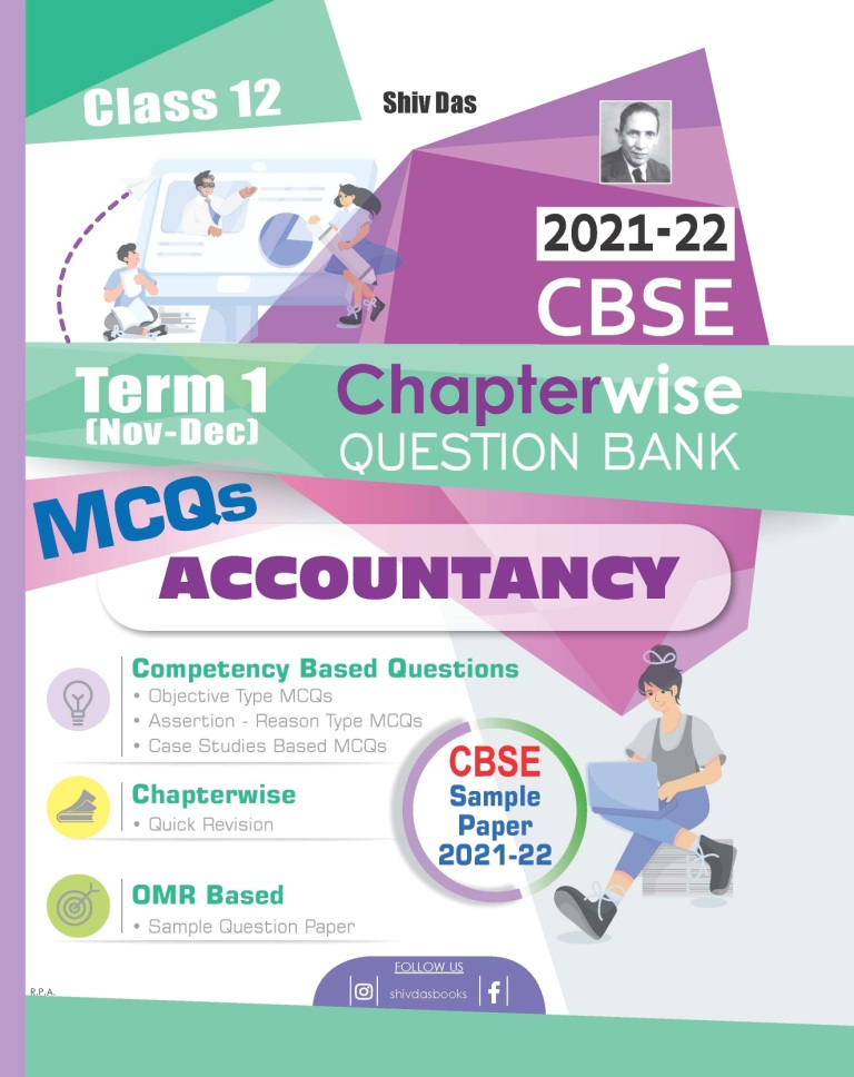 Shivdas CBSE Chapterwise MCQs Bank Class 12 Accountancy for 2021-22 Exam (New Pattern for Term 1)