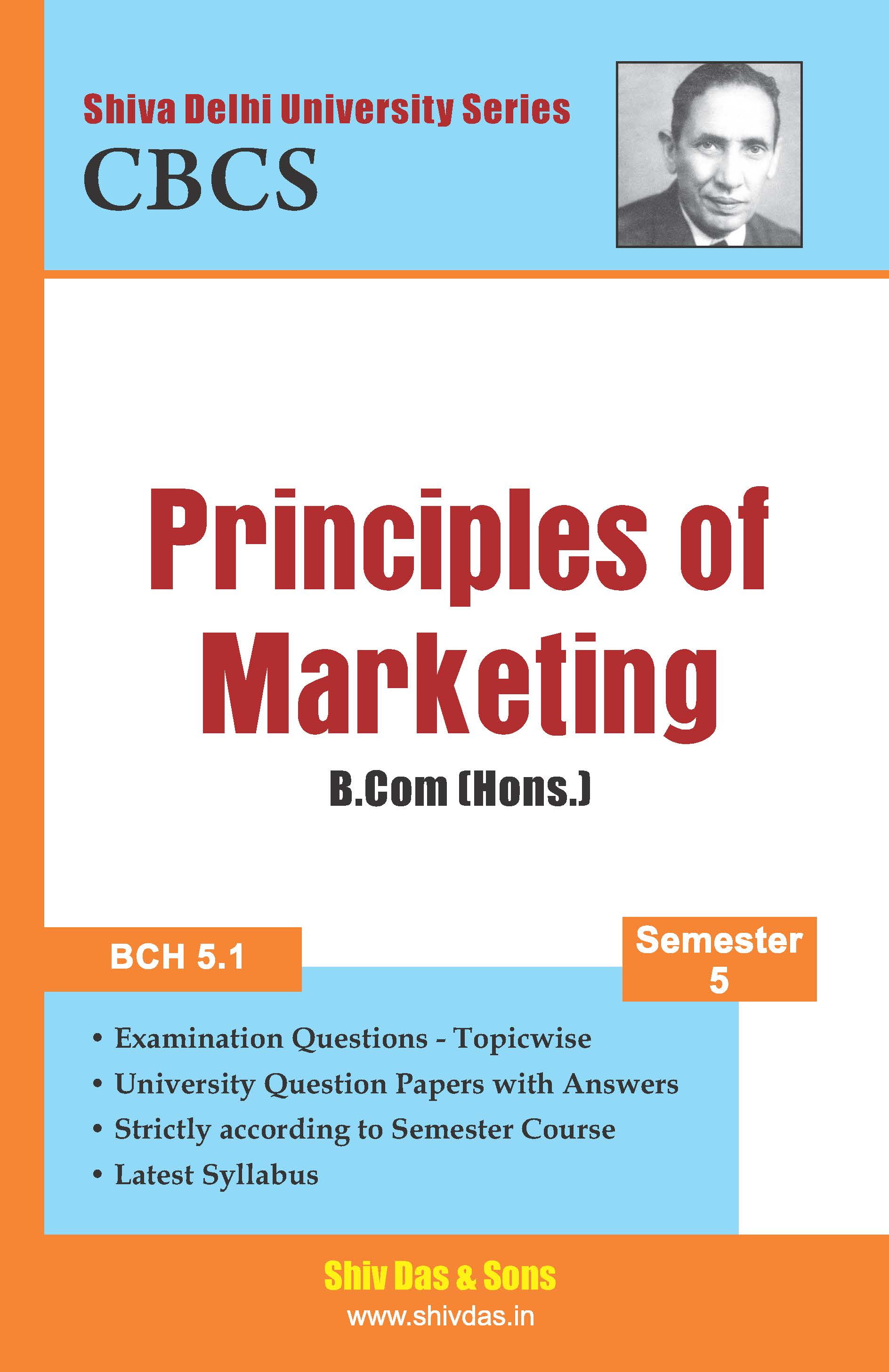 B.Com [Hons.] Semester-5 Principles of Marketing