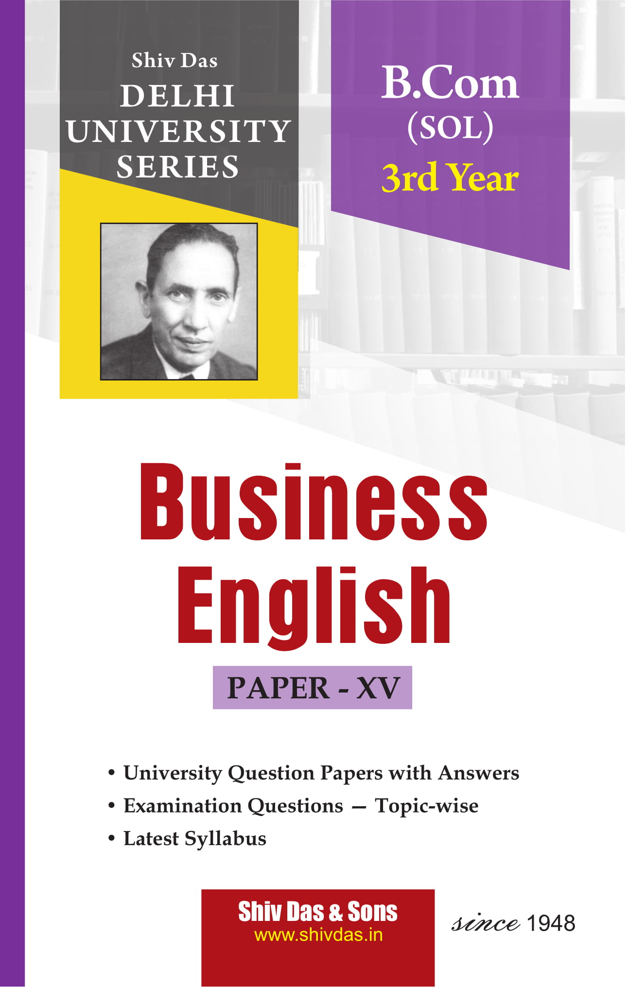 Business English for B.Com 3rd Year SOL/External