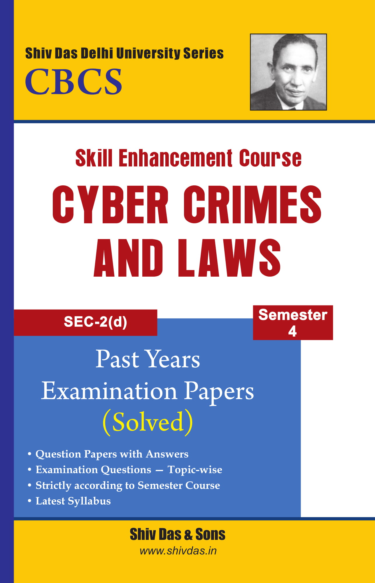 Cyber Crimes and Laws for B.Com Hons Semester 4