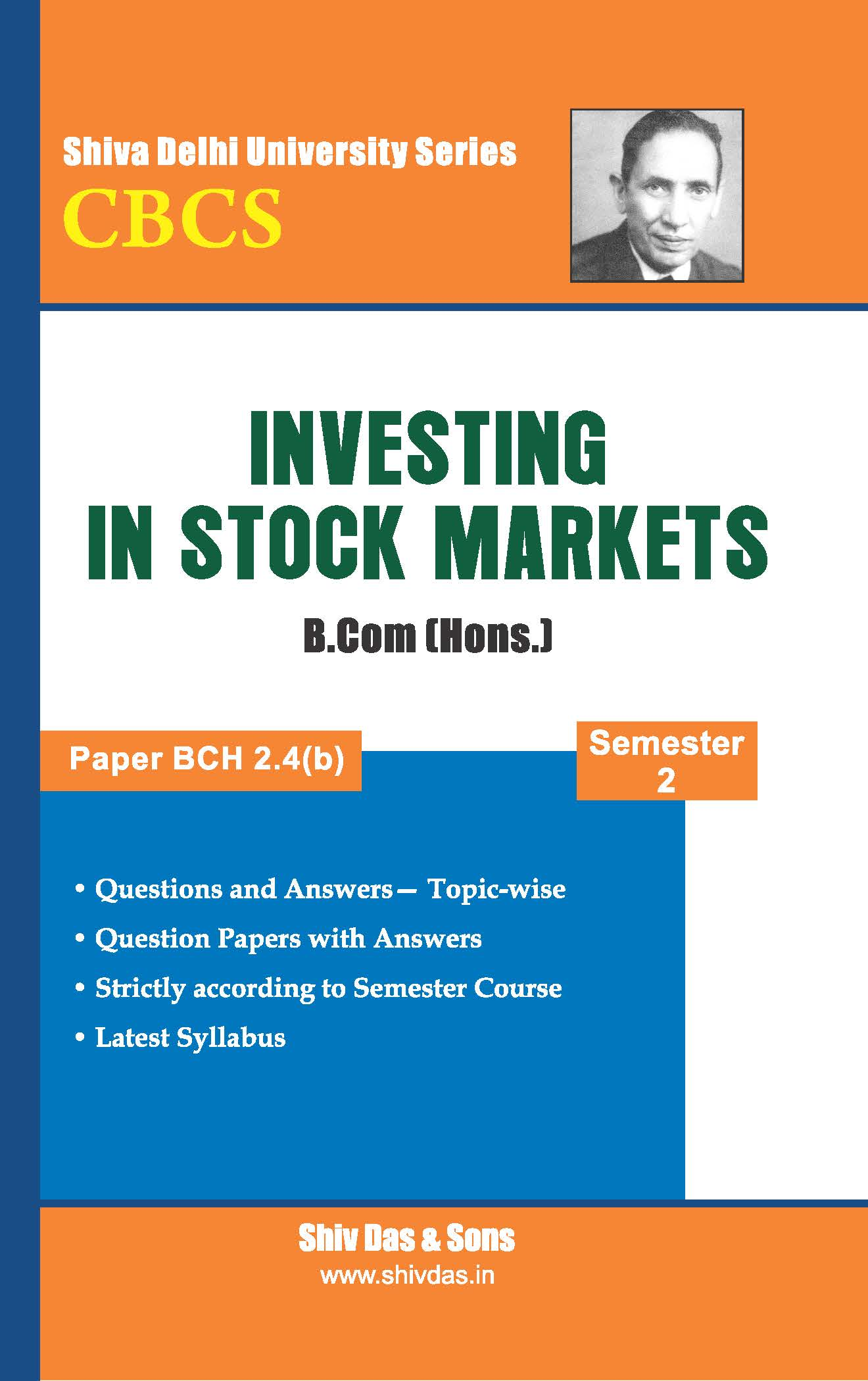 Investing In Stock Markets for B.Com Hons Semester-2