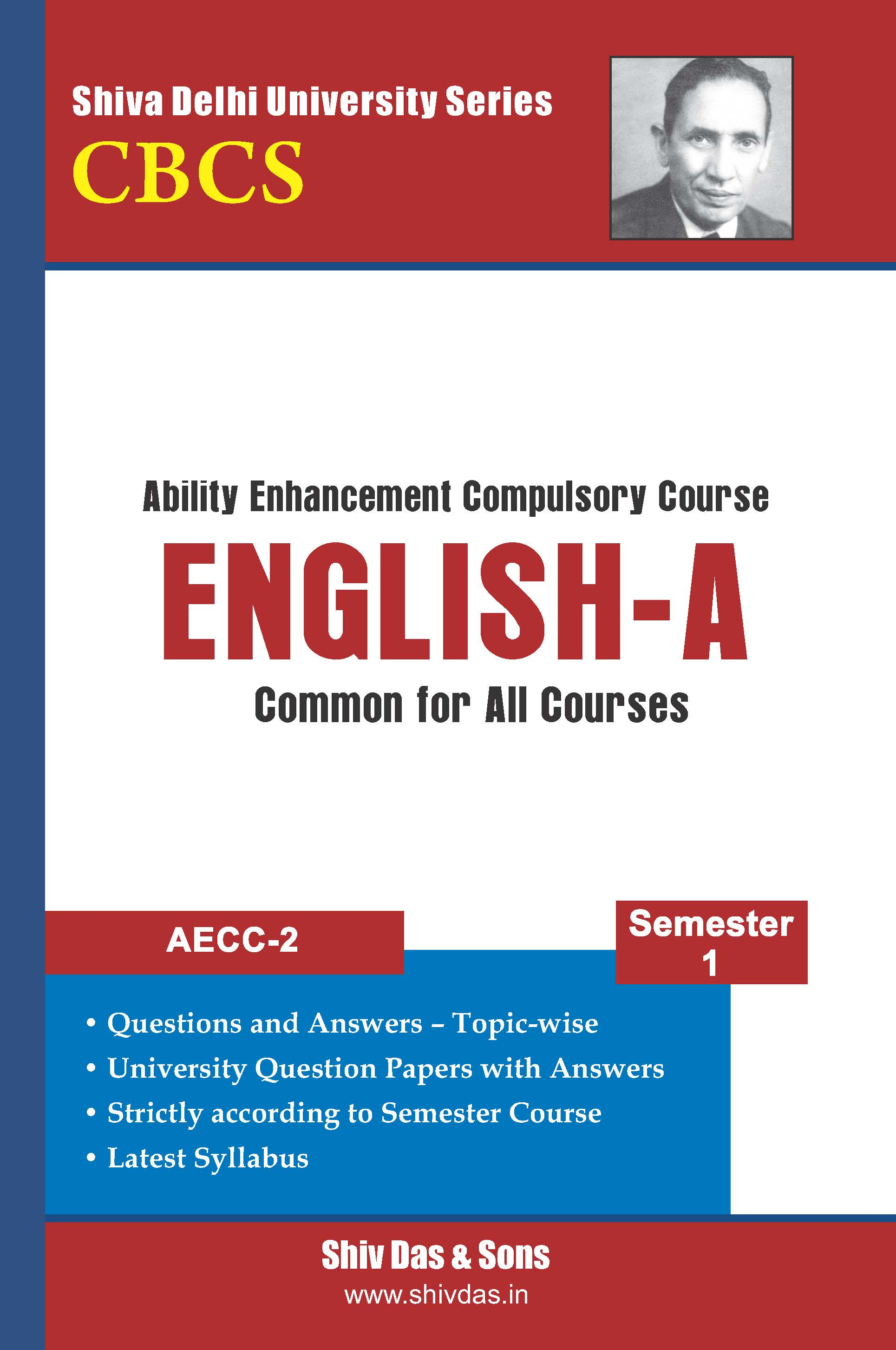 B.Com Hons. Semester-1 English-A