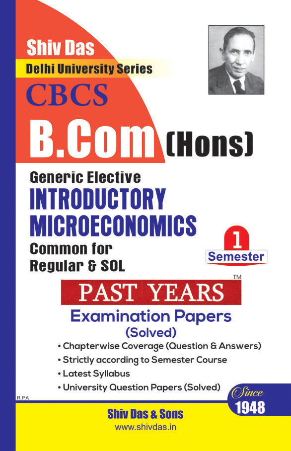 Introductory Microeconomics for B.Com Hons SOL/External 1st Year