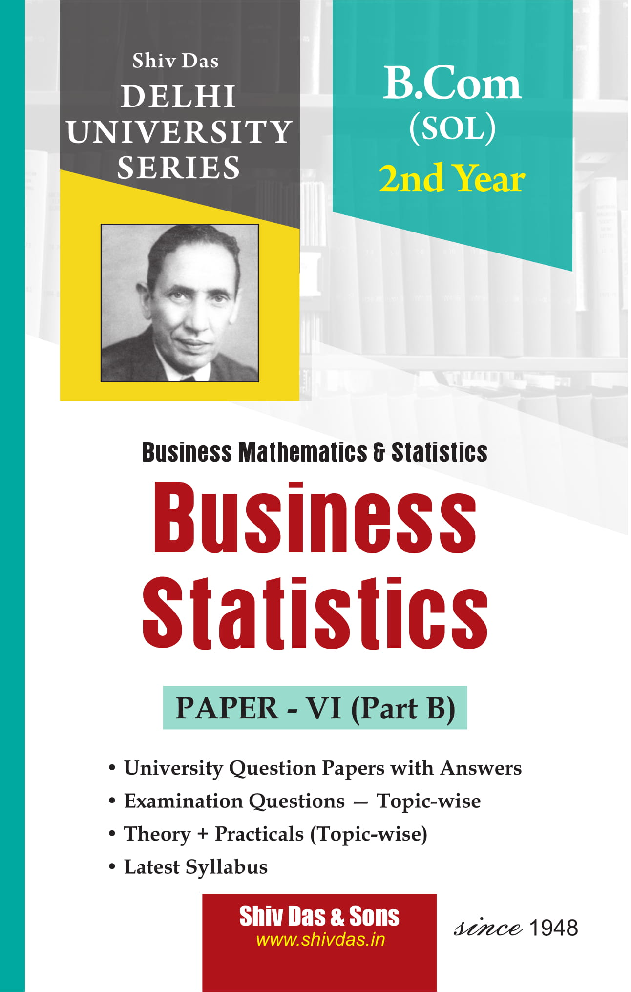 Business Statistics (Eng. Medium) for B.Com 2nd Year SOL/External