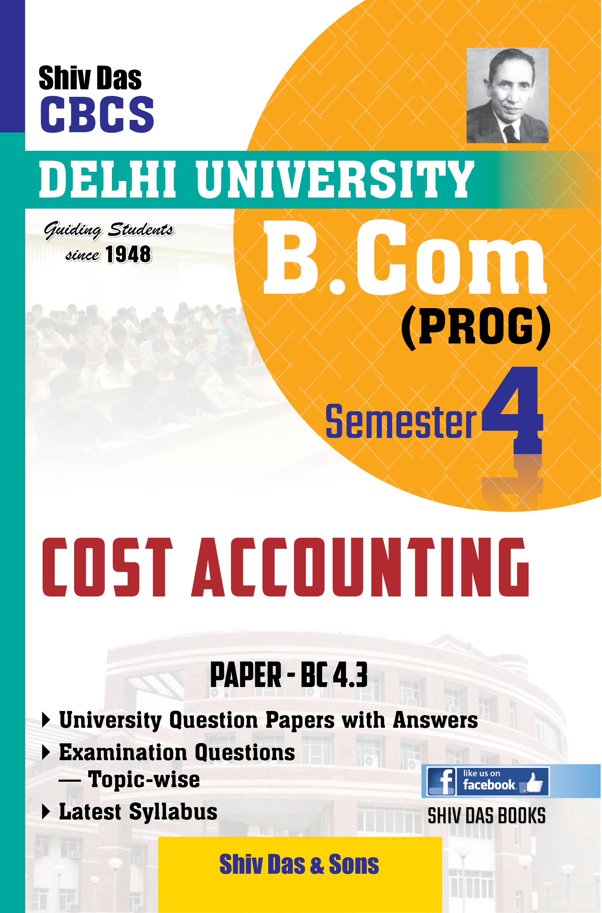 Cost Accounting for B.Com Prog Semester-4