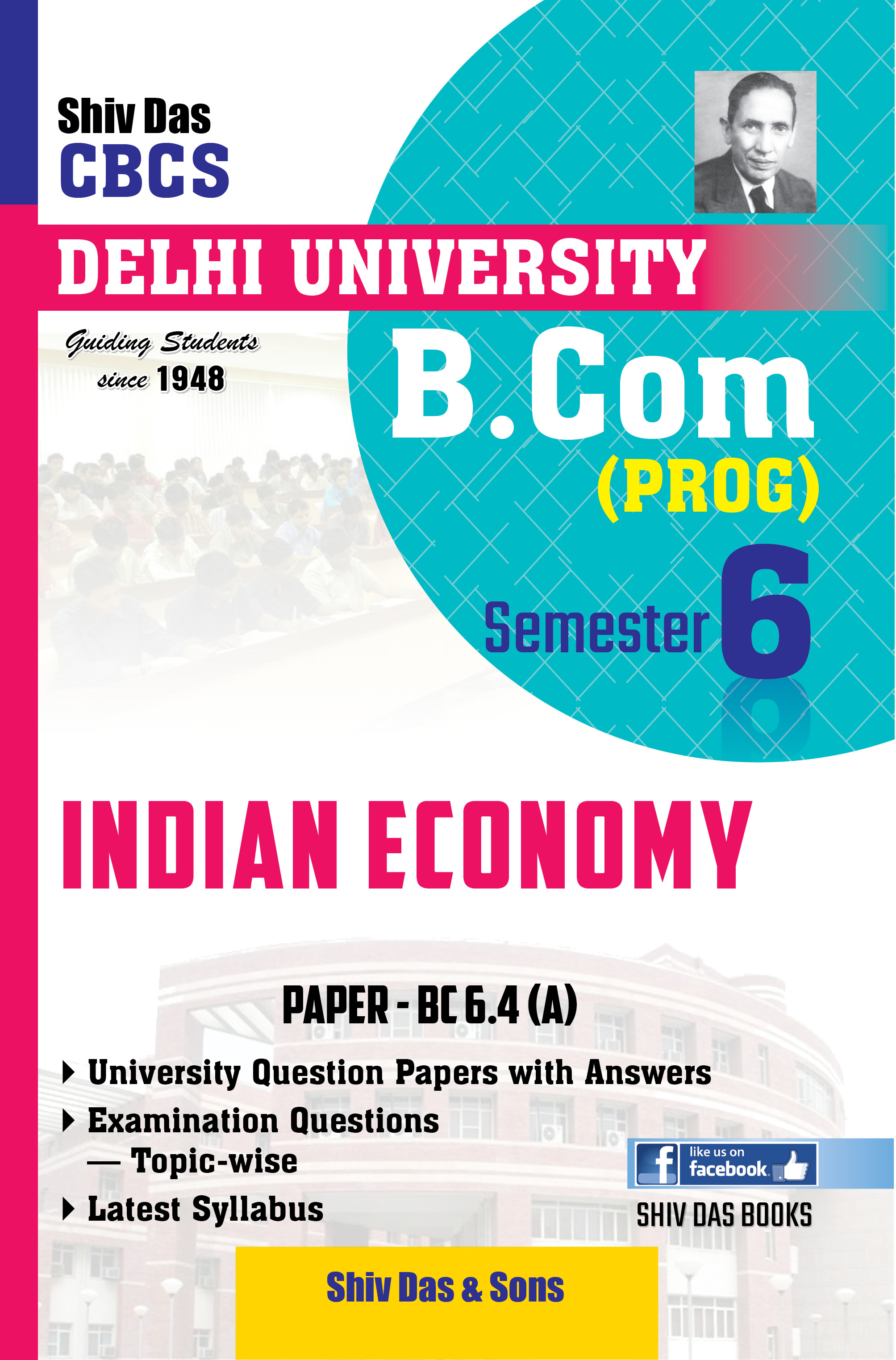 Indian Economy for B Com Prog Semester 6