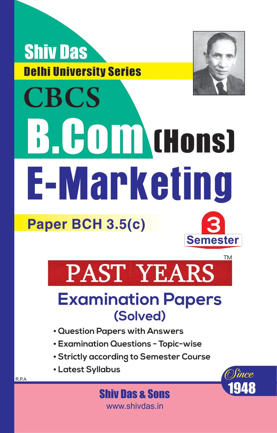 B.Com Hons. Semester-3 E-Marketing