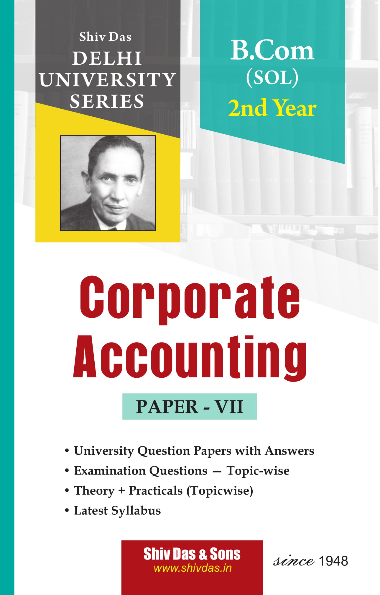 Corporate Accounting (Eng. Medium) for B.Com 2nd Year SOL/External