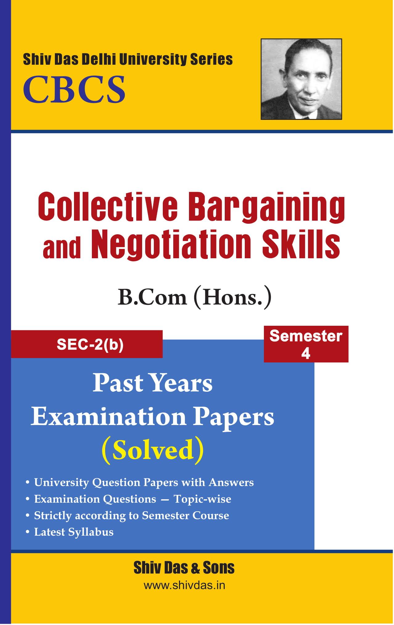 Collective Bargaining and Negotiation Skills for B.Com Hons Semester 4
