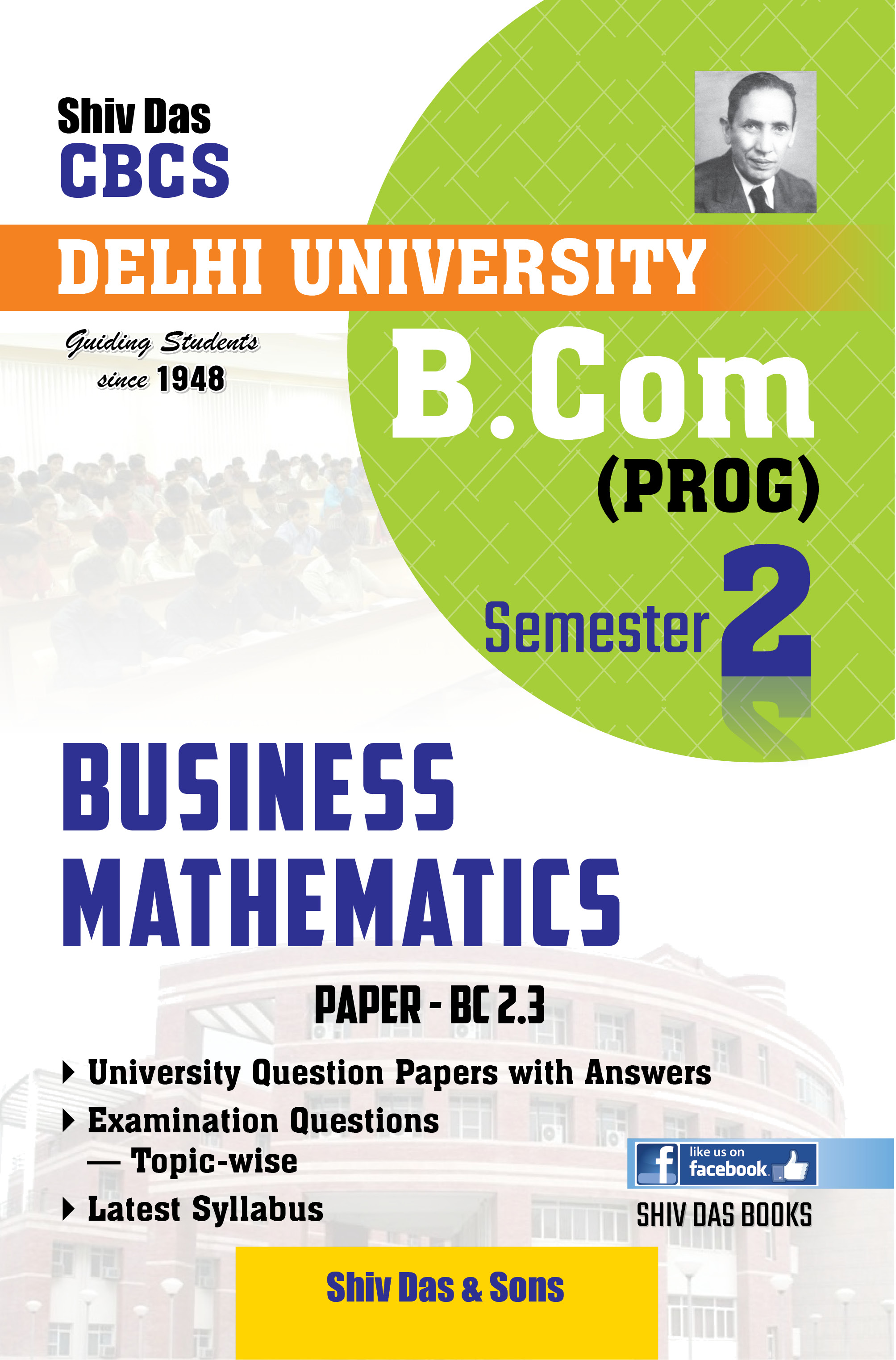 Business Mathematics (Eng. Medium) for B.Com 1st Year SOL/External
