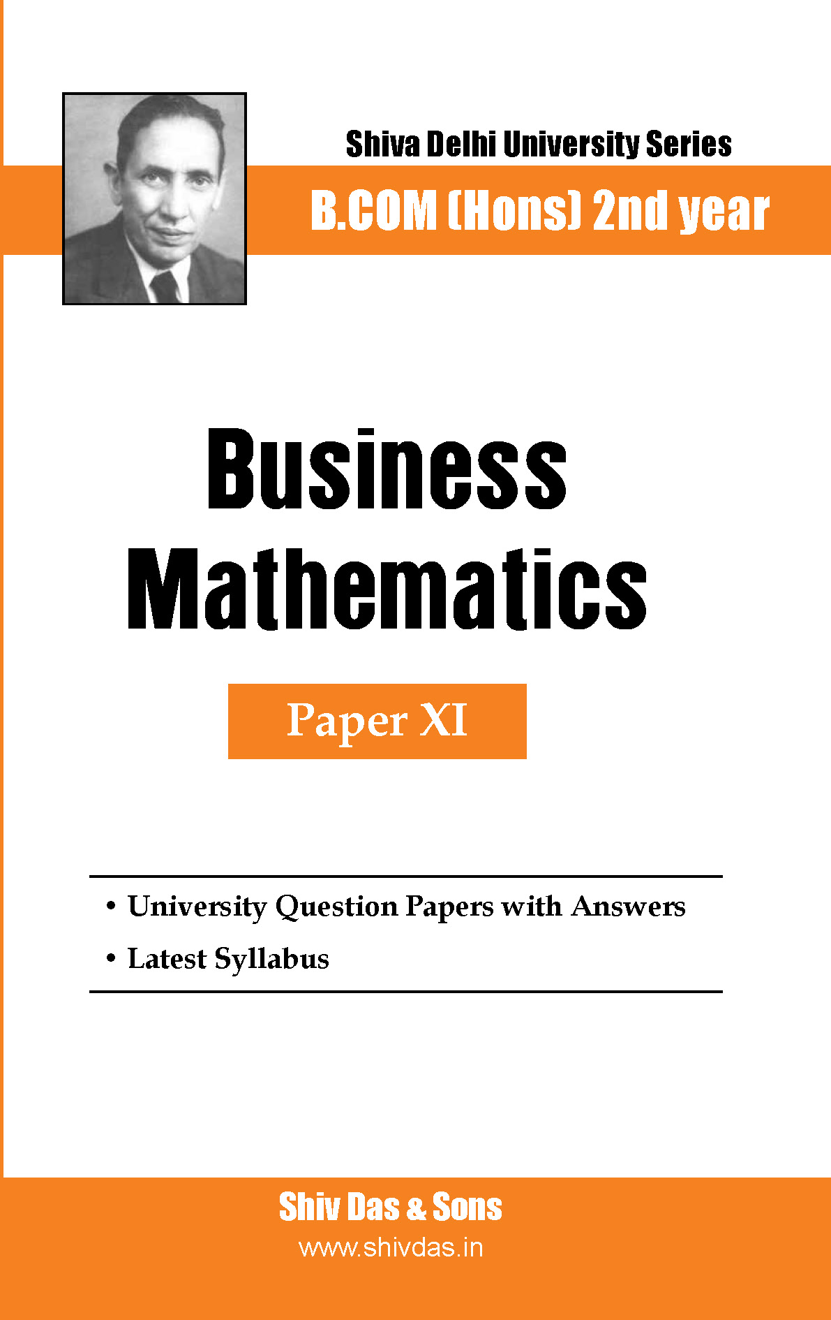 Business Mathematics for B.Com Hons SOL/External 2nd Year