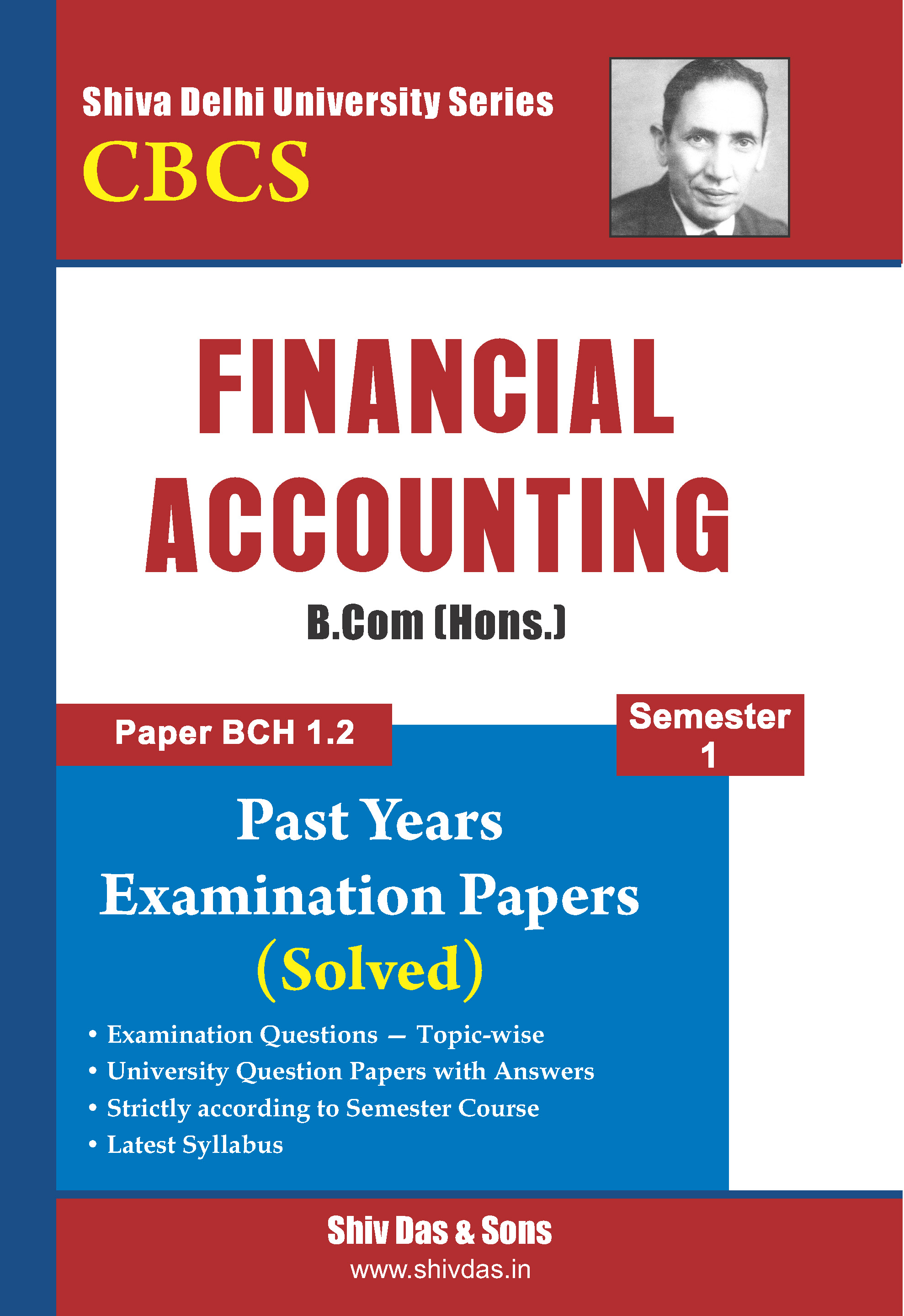 B.Com Hons. Semester-1 Financial Accounting