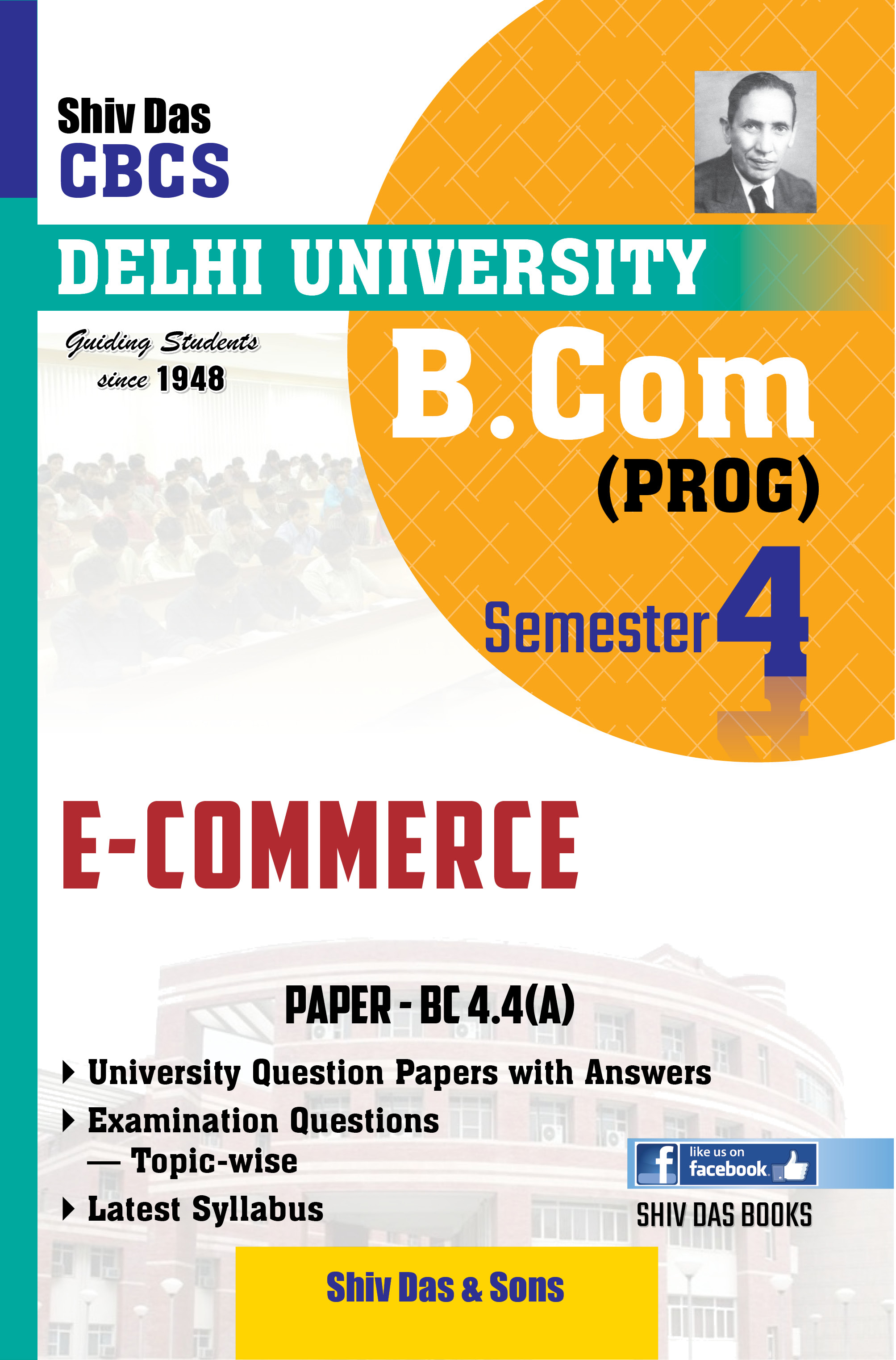 E-Commerce for B.Com Prog Semester-4