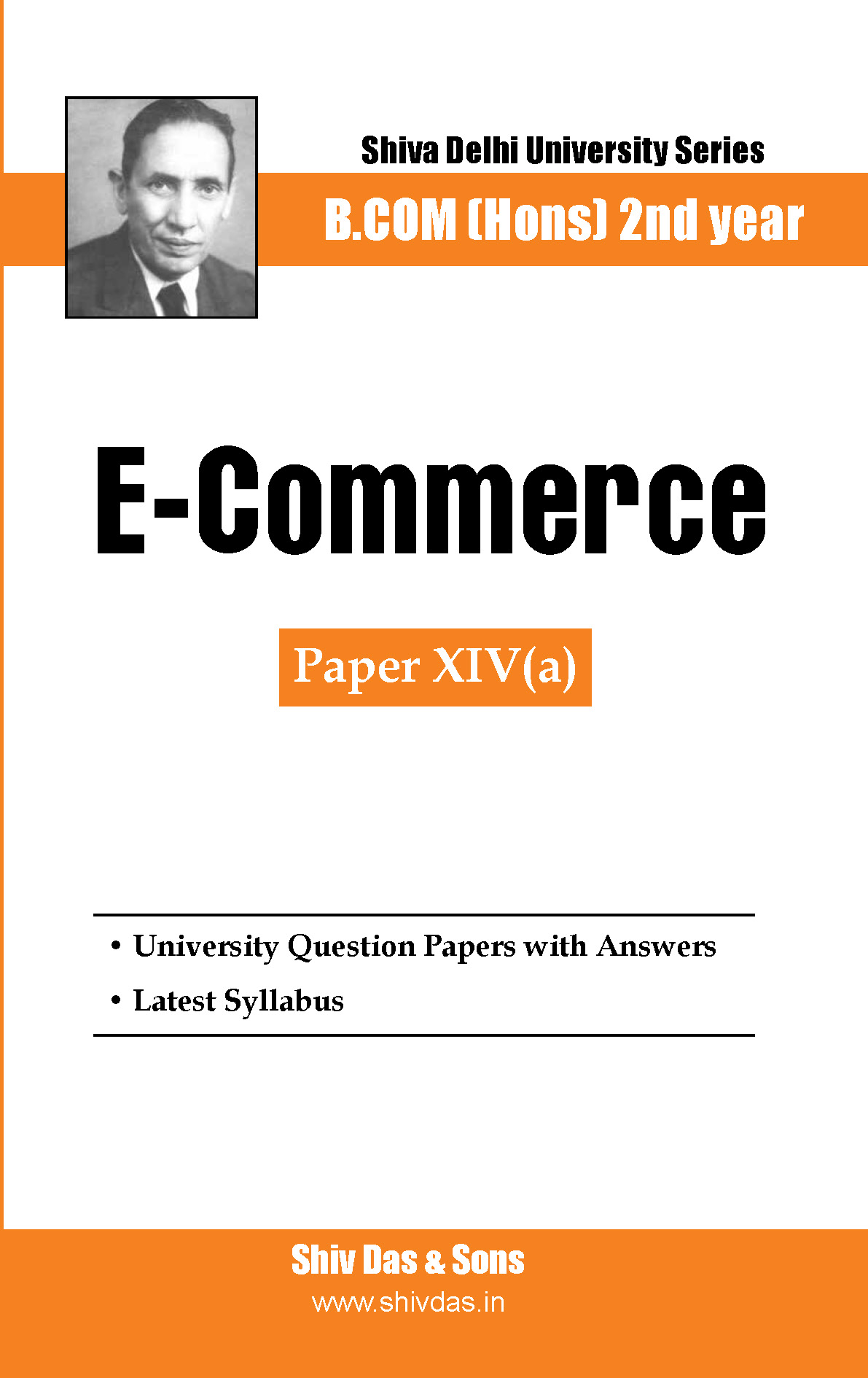 B.Com Hons-SOL/External-2nd Year-E-Commerce-Shiv Das-Delhi University Series