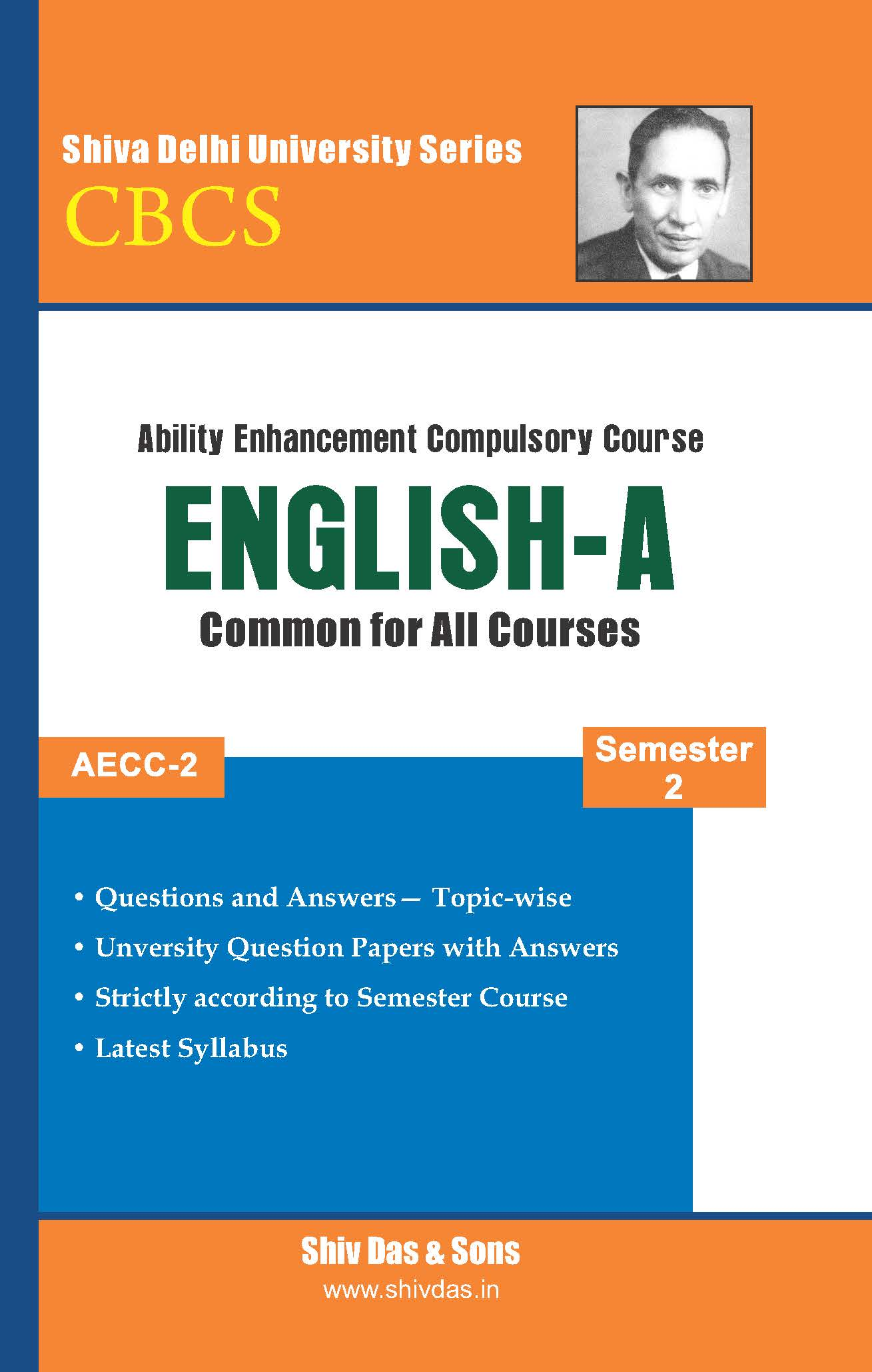 English-A for B.Com Hons Semester 2