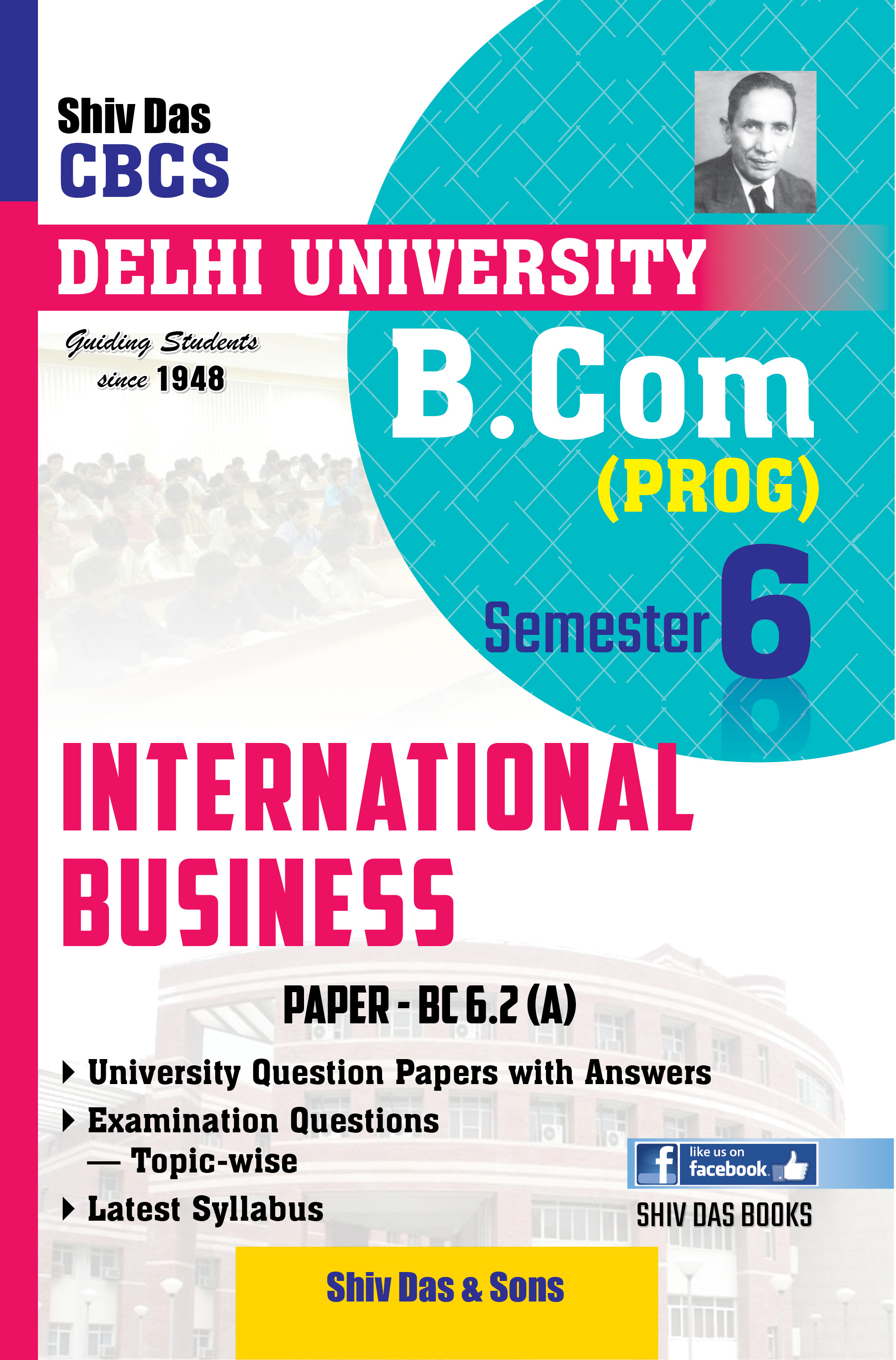 International Business for B.Com Prog Semester-6