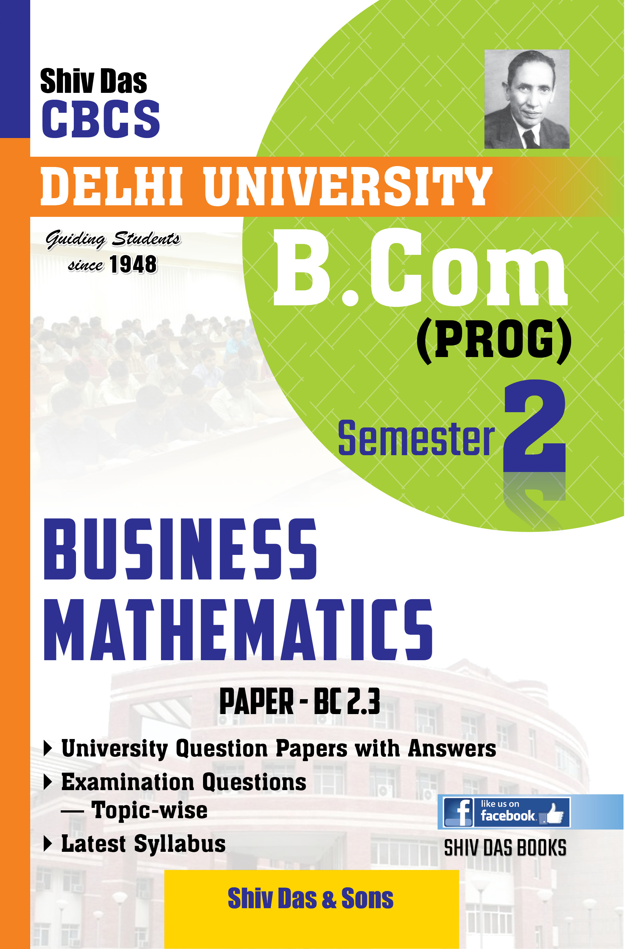 Business Mathematics for B.Com Prog Semester-2