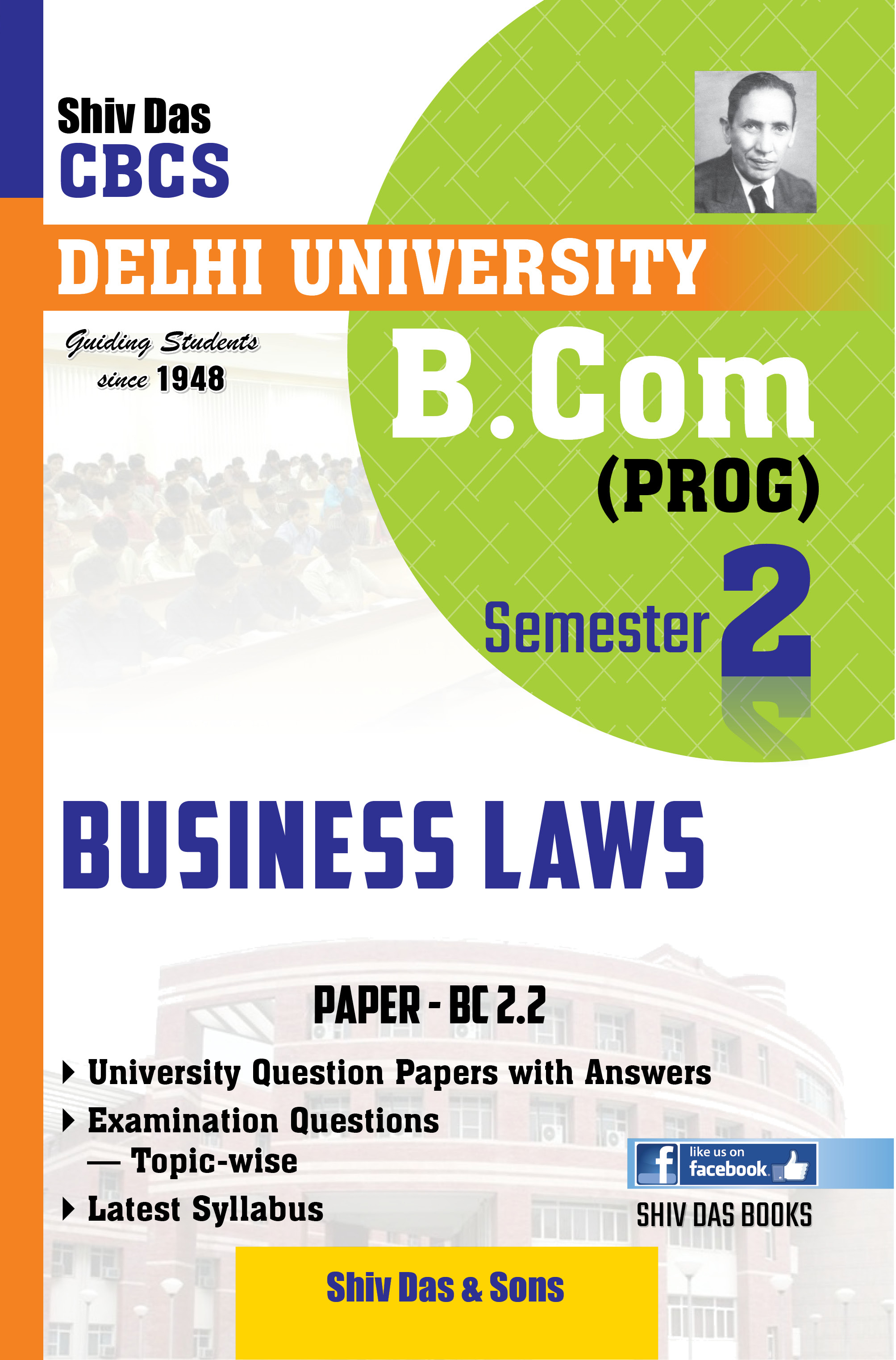 Business Laws for B.Com Prog Semester-2