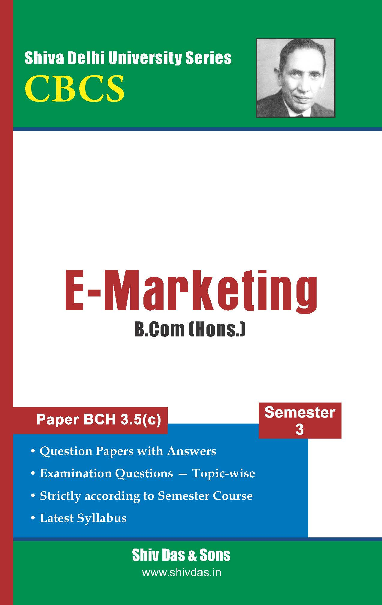 B.Com [Hons.] Semester-3 E-Marketing