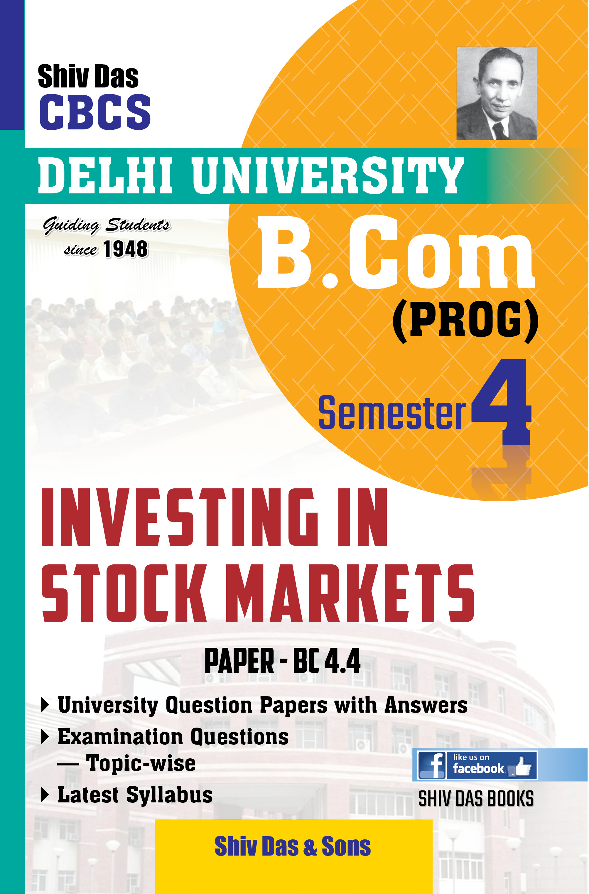 Investing in Stock Markets for B.Com Prog Semester-4