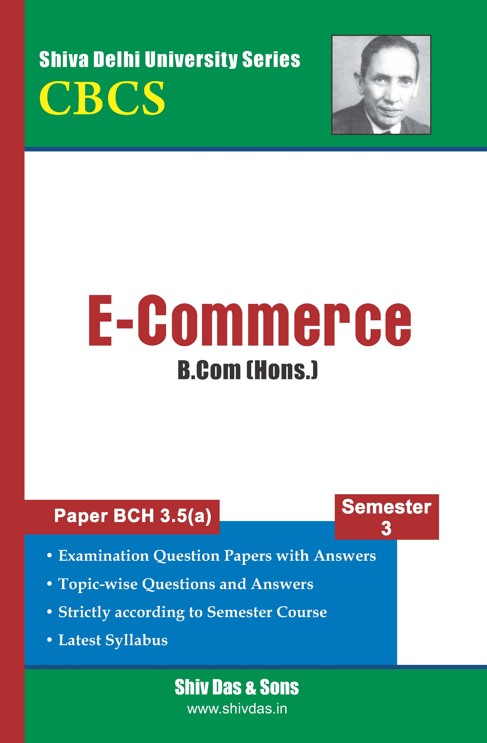 B.Com [Hons.] Semester-3 E-Commerce