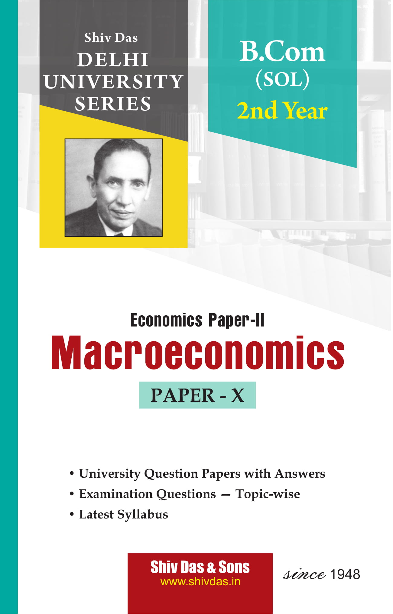 Macroeconomics (Eng. Medium) for B.Com 2nd Year SOL/External